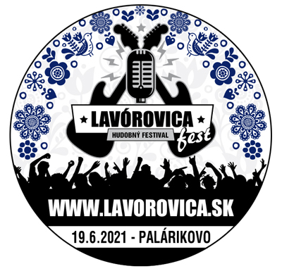 Hudobný letný festival Lavórovica fest 2021 Palárikovo