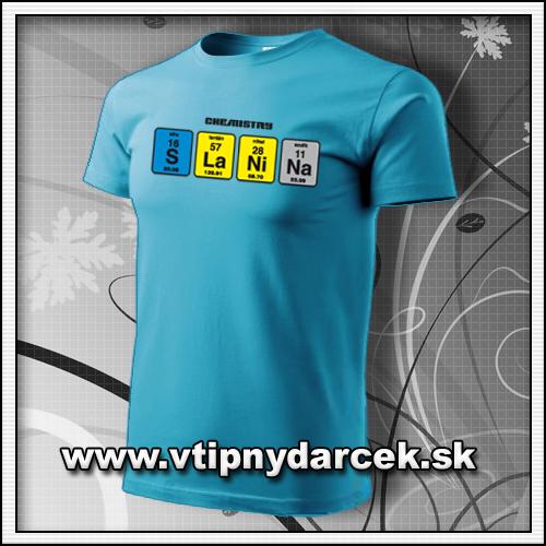 Vtipné pánske tričko Slanina ako jedinečné vtipné darčeky