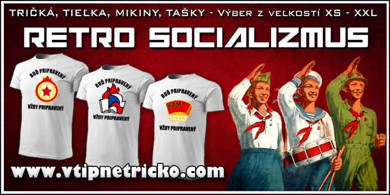 Socialistické retro tričká Iskrička Pionier Zväzák ako komunistický retro darček