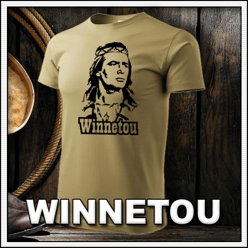 Retro tričká s Winnetuom ako retro darček či retro tričko pre muža a ženu Winnetou